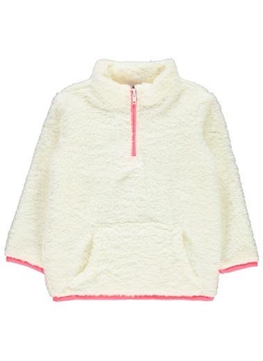 Civil Girls Kız Çocuk Sweatshirt Ekru